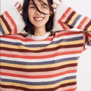 Madewell • Rainbow Cardiff Sweater